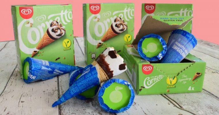 Vegan & gluten-free Cornettos due to hit the UK